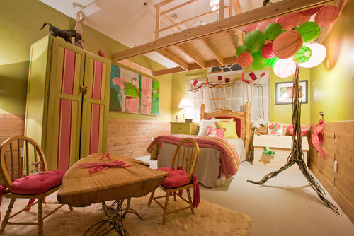 Enchanted Forest Girls Room