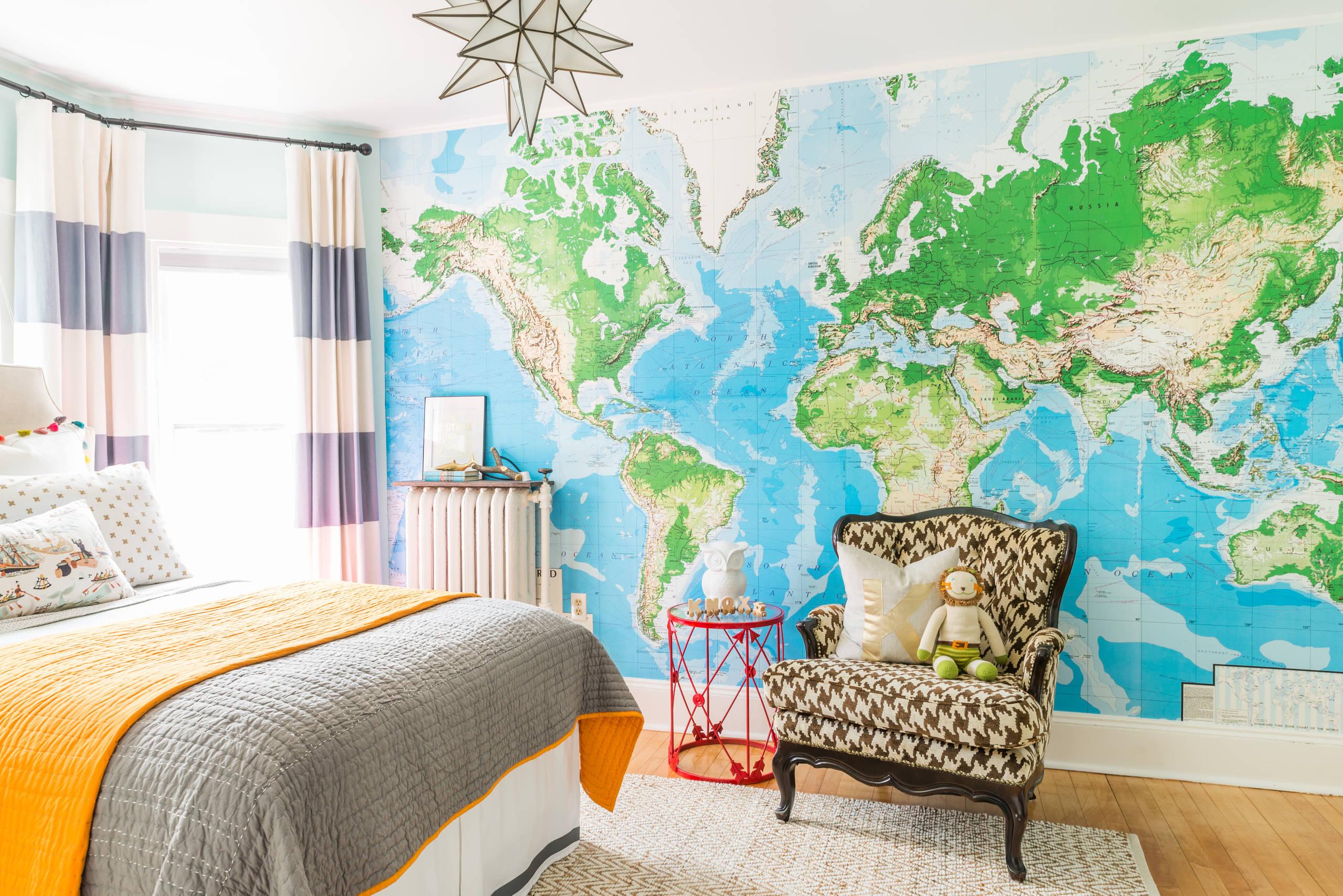 Wallpaper For Boys Room Houzz