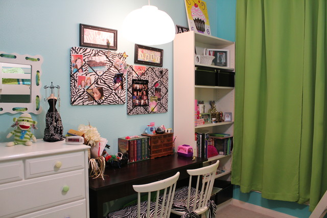 Abby & Audreys Room Makeover contemporary kids