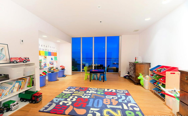Above the Sea Playroom contemporary-kids