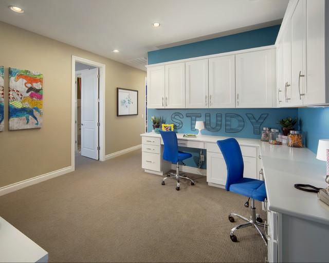 Cómo montar una zona de estudio en casa en un cuarto compartido 5