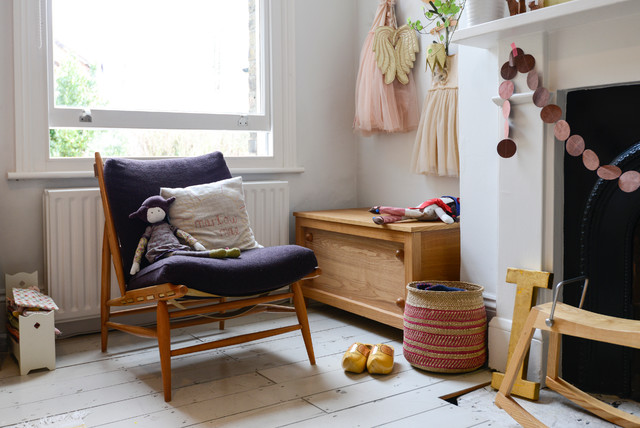 Inspiration for an eclectic kids' room remodel in London