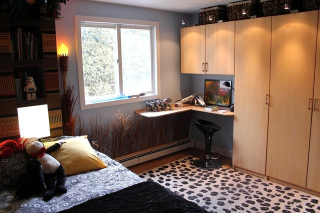 African theme kid bedroom eclectic kids boston by for African themed bedroom ideas