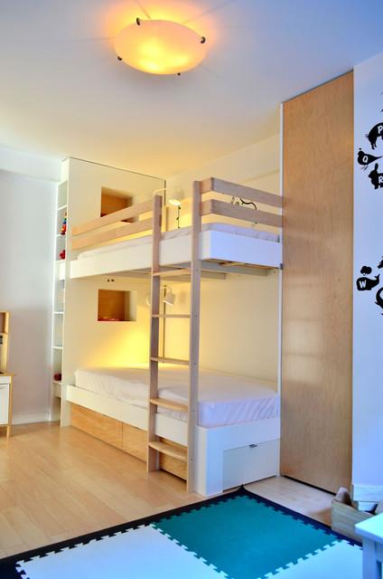Aidan Bunk Bed Modern Kids