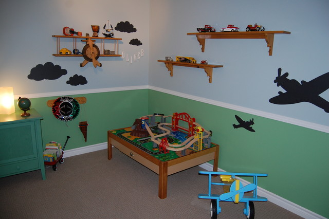Airplane Bedroom eclectic kids. Airplane Bedroom   Eclectic   Kids   Toronto   by Decked Out Spaces