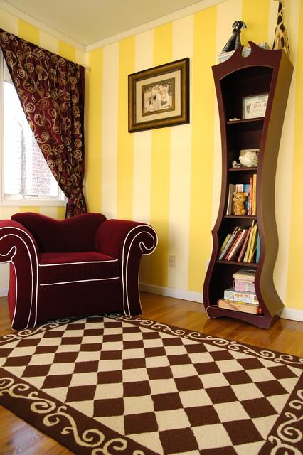 Alice In Wonderland Inspired Big Girl Room Eclectic