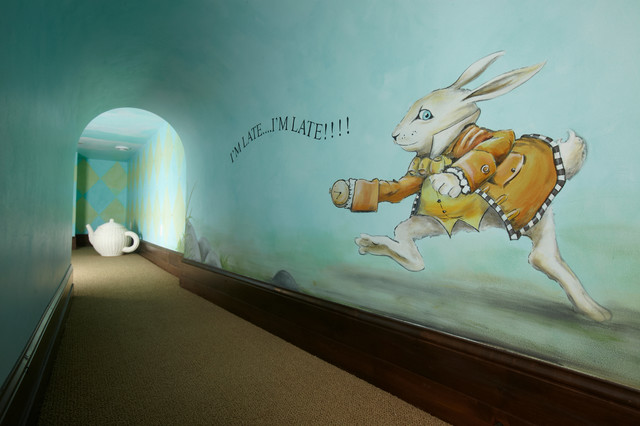 Alice in Wonderland Playroom traditional-kids