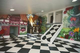 Alice In Wonderland Themed Room Kids Salt Lake City By Walker Home Design Houzz