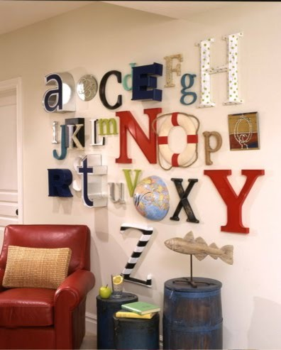 Alphabet Wall or A to Z wall kids