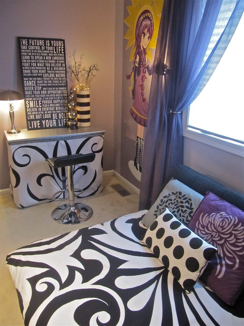 Anime bedrooms eclectic kids kansas city by k for Anime bedroom ideas