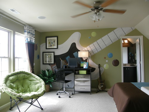 give kids bedrooms sizzle with paint