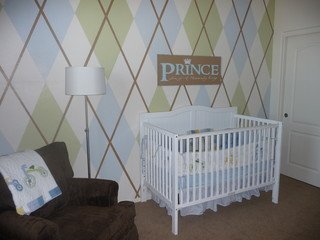 Argyle Bedroom contemporary kids