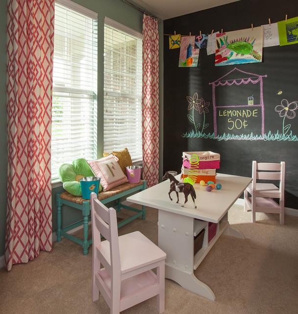 Arts & Crafts Room eclectic-kids