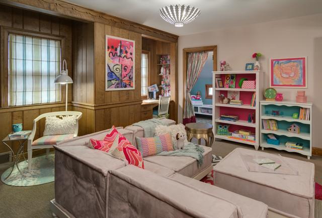 Asid Mn Showcase House 2014 Twin Girls Playroom
