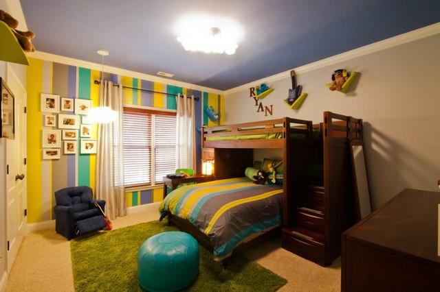 Atlanta boy 39 s bedroom contemporary kids atlanta for Rooms to go kids atlanta
