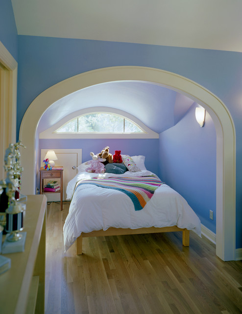 Attic Conversion to Bedroom traditional kids