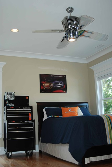 Automotive bedroom contemporary kids charleston by Boys bedroom ceiling fans