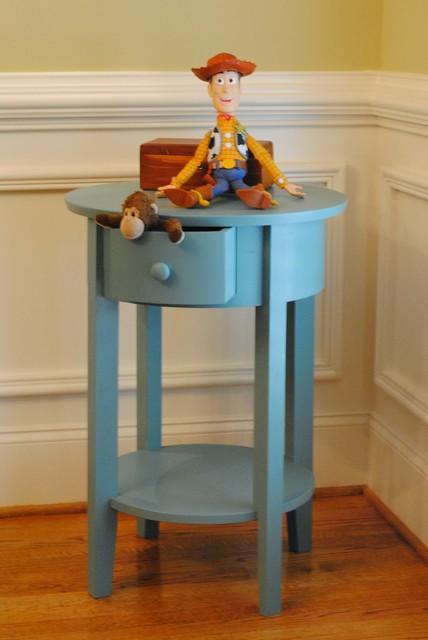 hot sale online 99667 b307f Baby Boy's Nursery Side Table - Modern - Kids - Atlanta - by ...