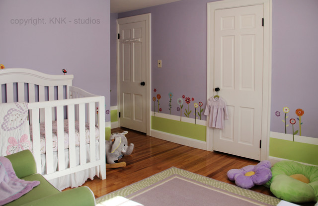 Baby Girl Room contemporary-kids
