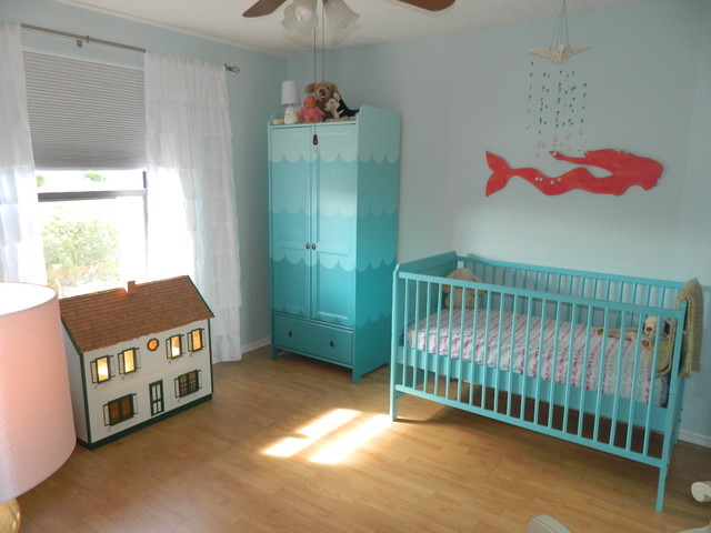 Baby Girls Room - Beach Style - Kids - Tampa - by A Coastal Home LLC