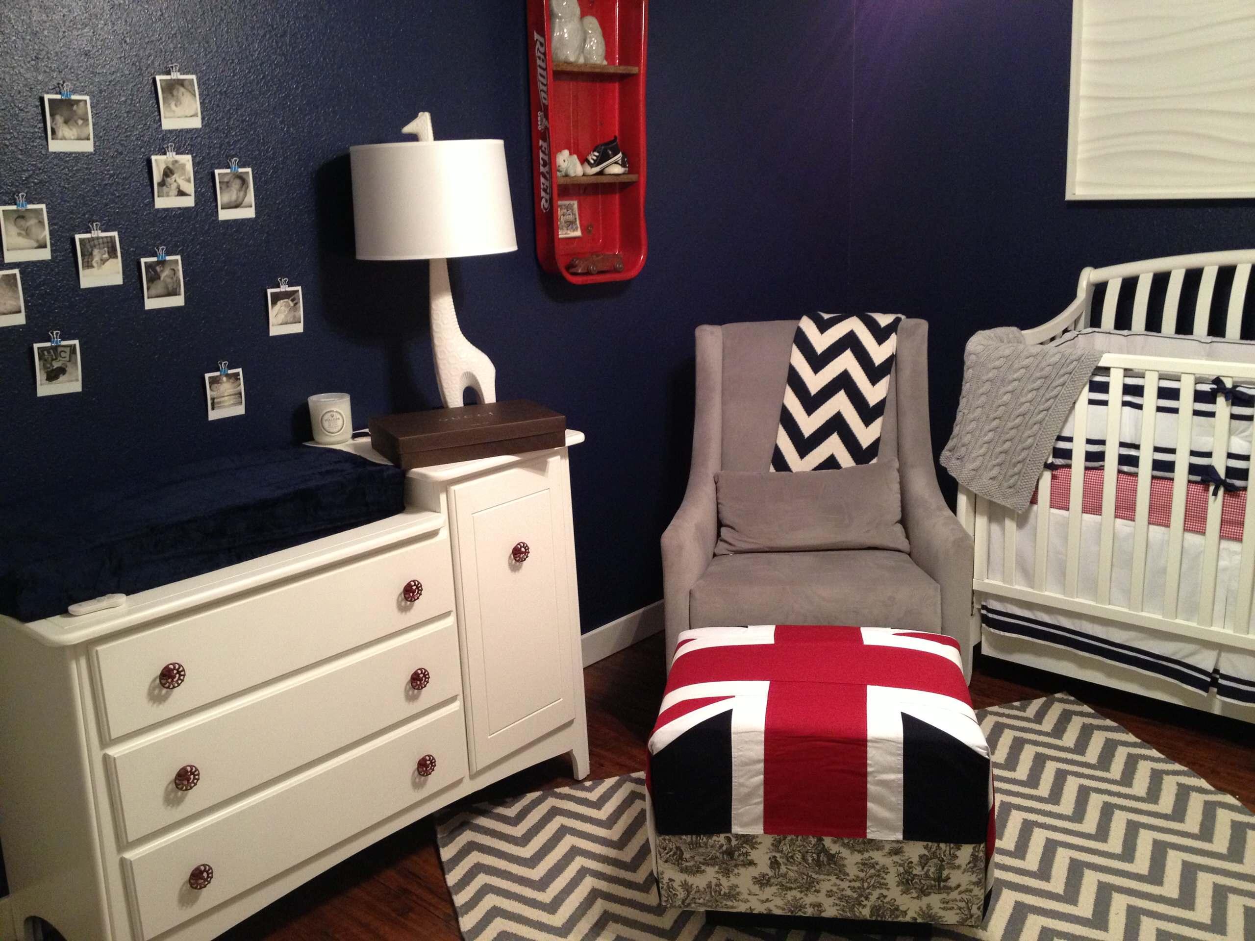 Baby Hudson's Room