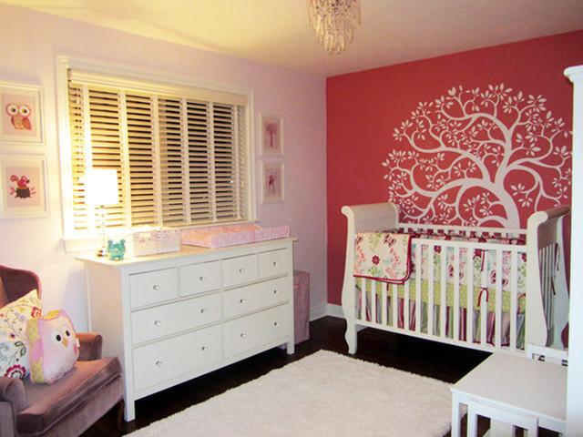Baby nursery traditional-kids