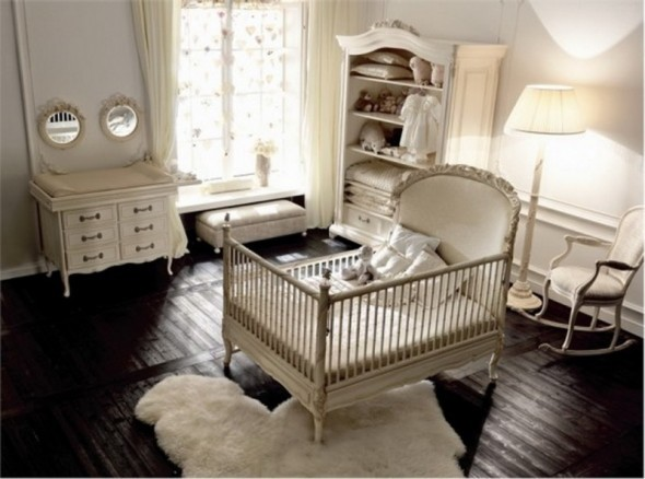 Baby Room shabby chic style kids. Baby Room