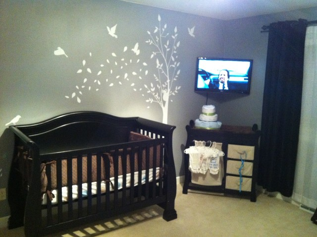 Baby Room traditional-kids