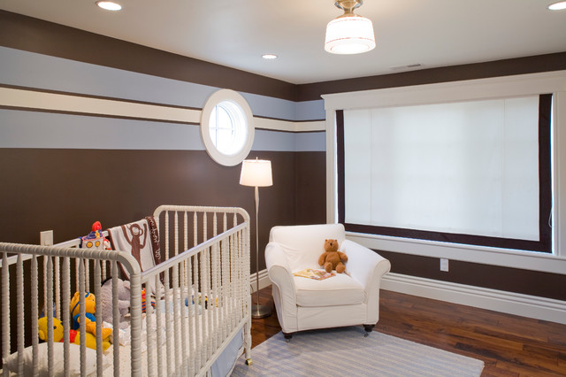 Baby Room New Construction traditional-kids