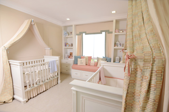 Baby Twins Bedroom Traditional Kids