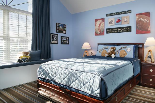 Baseball Bedroom Contemporary Kids Newark By