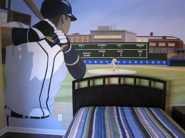 baseball boys room