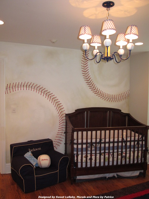 Baseball Nursery Traditional Kids