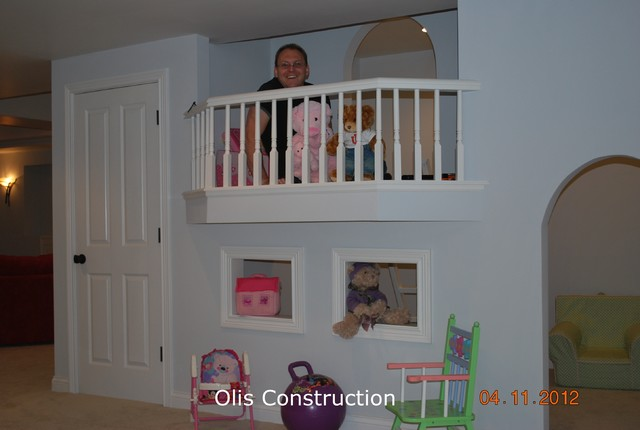basement finish with kids playroom