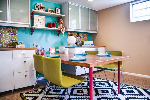 basement kid 39 s play area contemporary kids denver