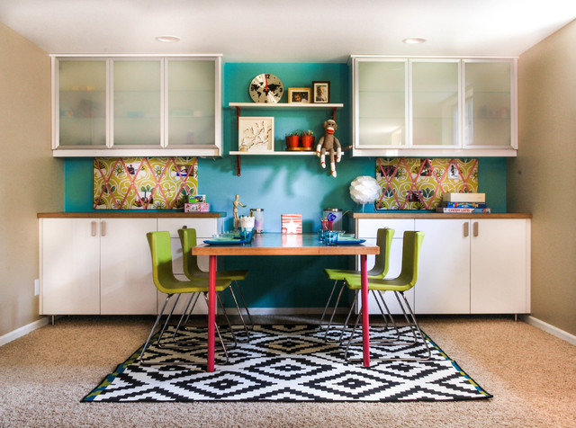 basement kid 39 s play area contemporary kids denver by latitude 39 designs llc. Black Bedroom Furniture Sets. Home Design Ideas