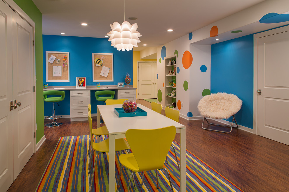 Kids' room - contemporary kids' room idea in New York