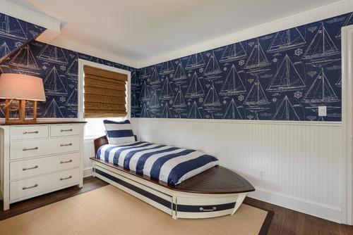 dormitorio estilo nautico o naval