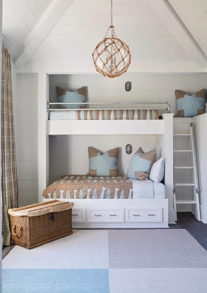 Inspiration for a coastal kids' room remodel in Atlanta