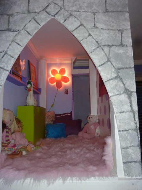 Bedroom for a 5 year old girl contemporary kids new york by your dreamspace - New york girls room ...