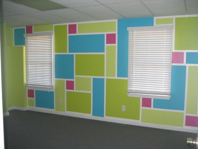 bedroom graphics contemporary-kids