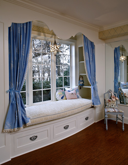 French Finese traditional bedroom