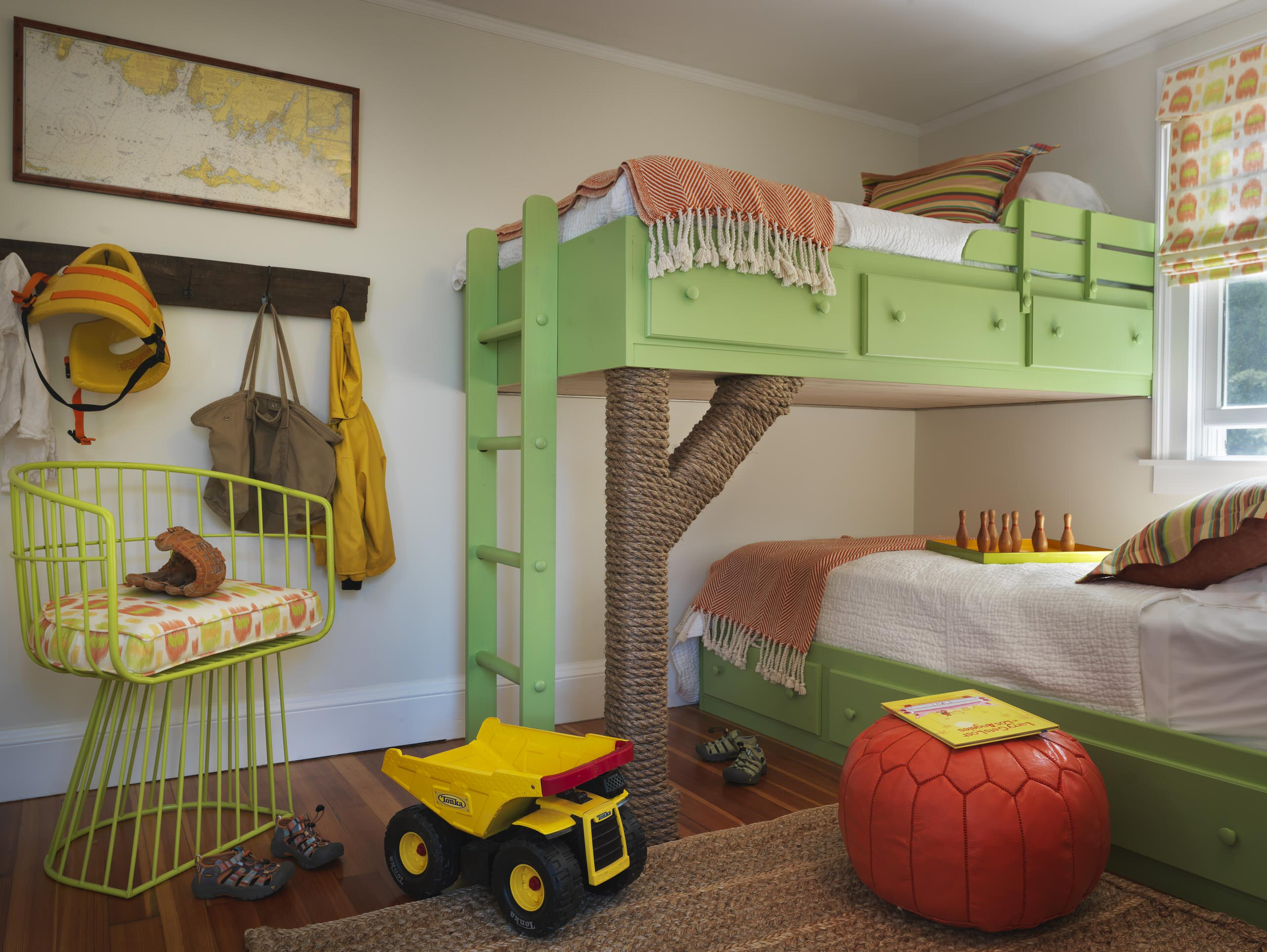 Picture of: Wall Mounted Bunk Bed Houzz
