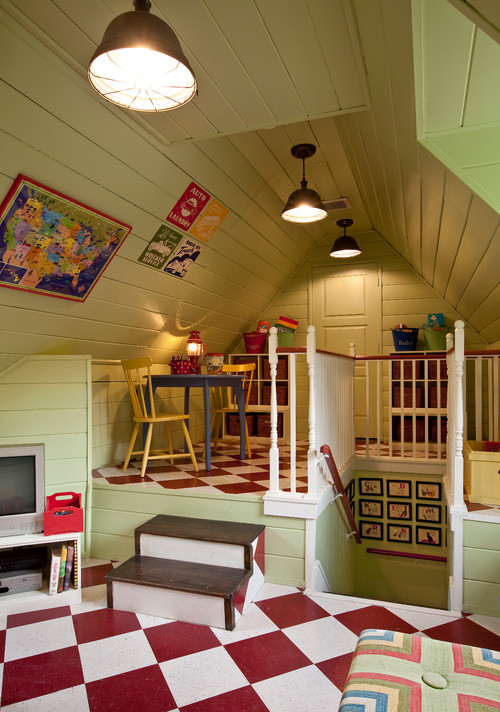 traditional kids Cozy Attic Conversions