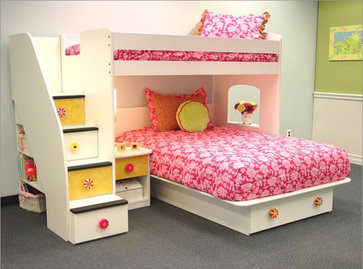 Berg Furniture- Utica Lof contemporary kids
