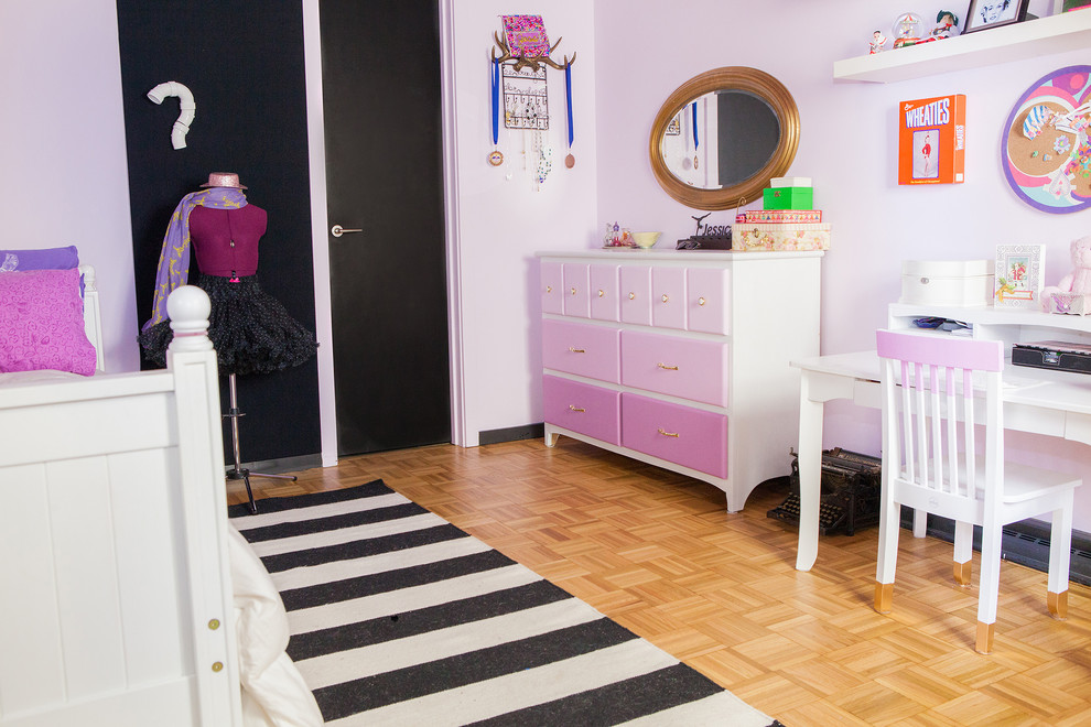 Inspiration for a 1950s kids' room remodel in Columbus