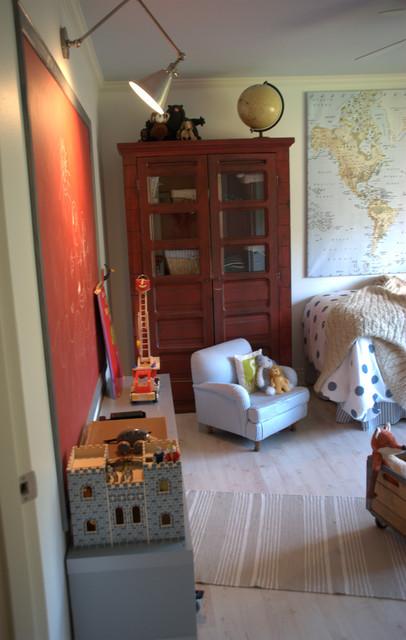Big Boys' Bedroom eclectic-kids