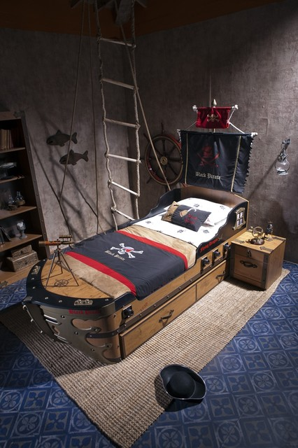 black pirate kids bedroom collection eclectic kids