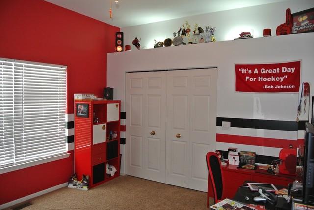 Hockey Themed Bedroom] Best 25 Hockey Theme Bedrooms Ideas On ...