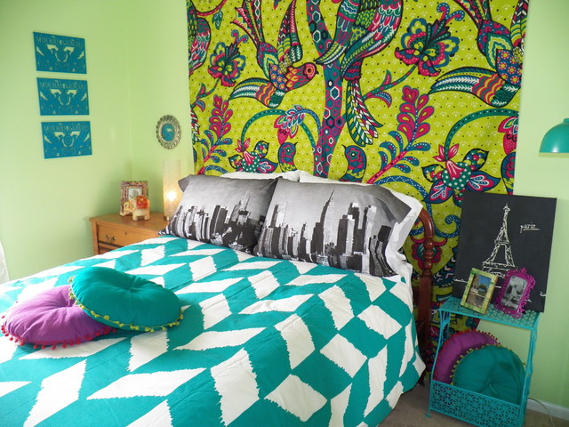 Bohemian Chic Teenage Bedroom Eclectic Kids